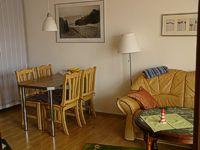 Schlafzimmer Ferienwohnung Norderney, Esszimmer Ferienwohnung Norderney
